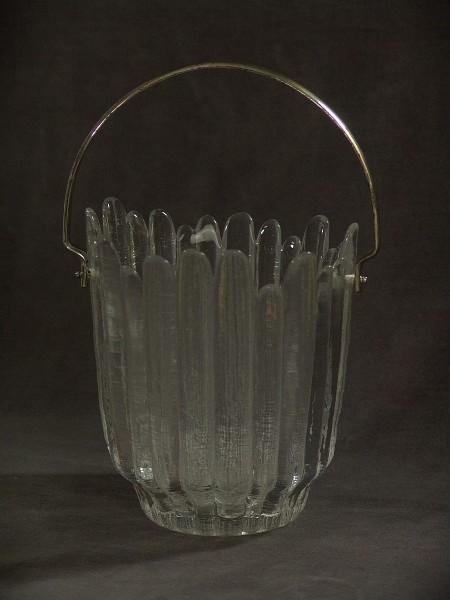70er Jahre Eisglas Eiswürfelbehälter - Annahütte - Eiszapfen