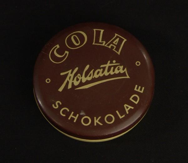 Blechdose um 1950 - Holsatia Cola Schokolade