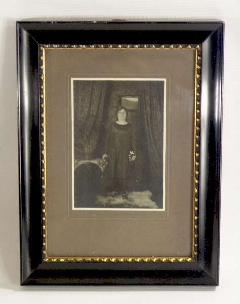 Antiker Schellack Bilderrahmen ~1910