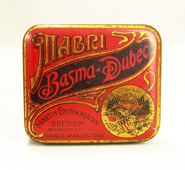 Zigarettendose / Tabakdose MABRI - Bremen - Basma-Dubec - Brinkmann