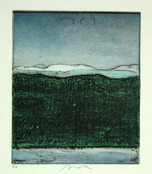 Pravoslav Sovak Original Radierung - Landscapes 3927a - 1972