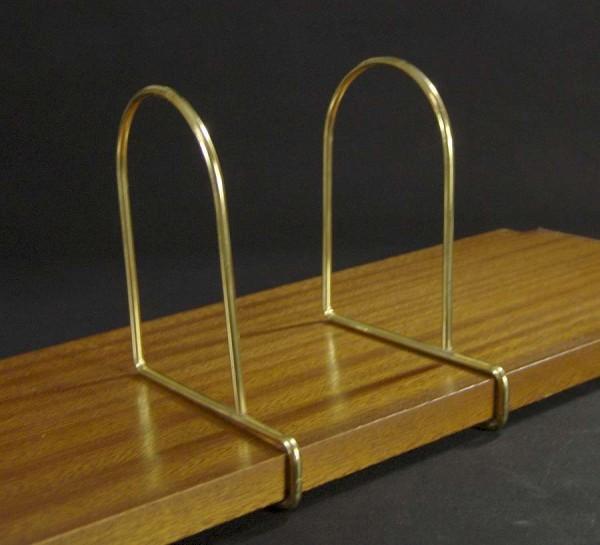 String Regal Buchstützen zum Aufstecken - Gold