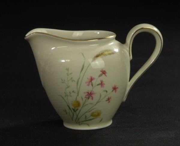 Mitterteich Porzellan Milchgiesser - Gräser - Blumen - 50er Jahre