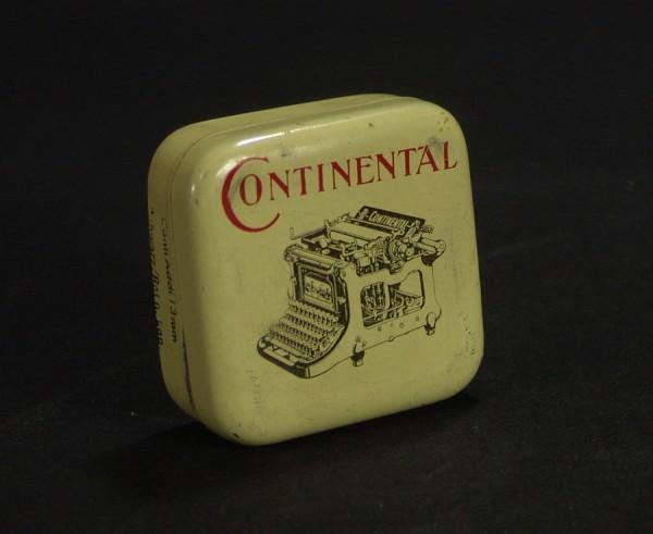 Continental Schreibmaschinen Farbband - Blechdose