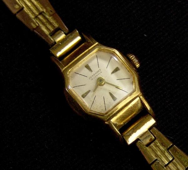 JUNGHANS Damen Armbanduhr - 50er Jahre - Defekt