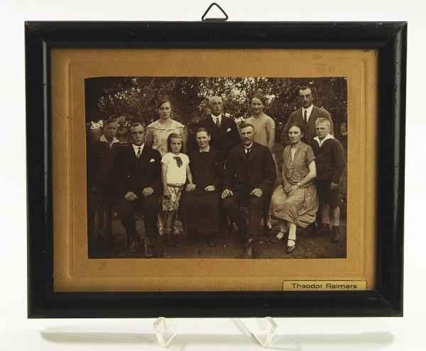 Antiker Bilderrahmen um 1910 - 23,5 x 19,5 cm