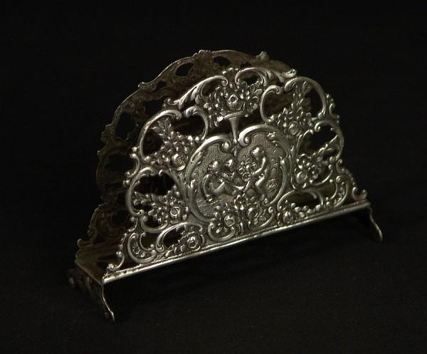 Antik Silber - 800 - Serviettenhalter - Putti - Putto - Engel