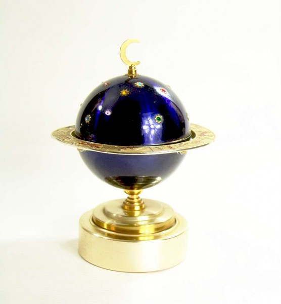Vintage Zigarettenspender - Globus - Mond - Spieluhr
