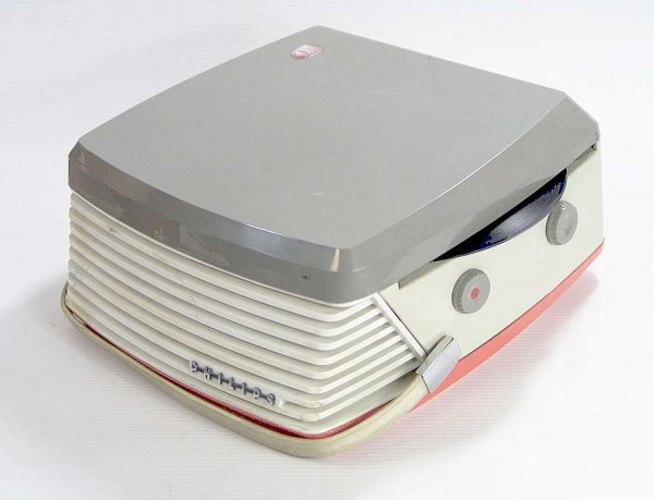 PHILIPS MK 35 Plattenschlucker - 60s Plattenspieler - Batteriebetrieb
