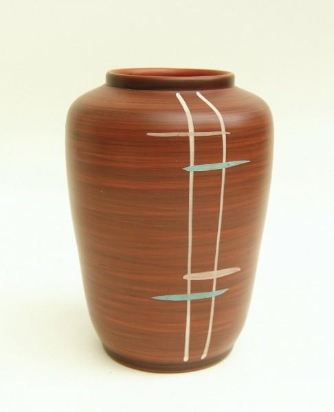 50er Jahre Keramik Vase - WEKARA - 20 cm