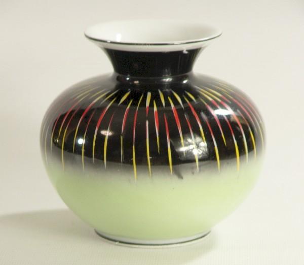 50er Jahre Porzellan Vase - Spechtsbrunn - Handbemalt