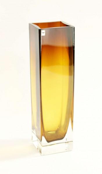 GRAL Glas Vase ~ 1960 - Kristallglas - 26 cm