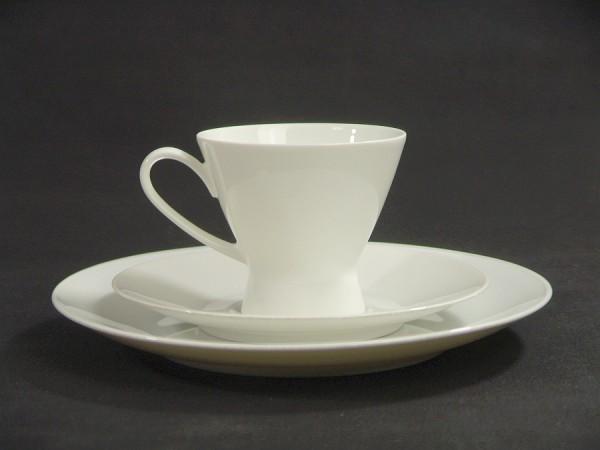Rosenthal Form 2000 Gedeck - Raymond Loewy - Uni weiß