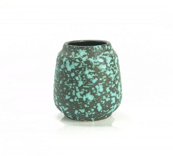 Kleine Lava Keramik Vase um 1960