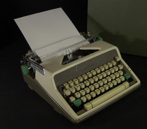 Mechanische Schreibmaschine - Olympia - 50er Jahre