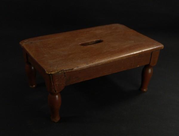 Antiker kleiner Schemel - Holz