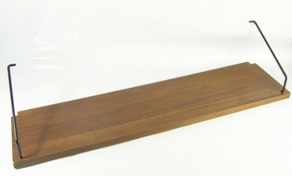 Poul Cadovius Royal String Regal Boden - 80 x 20 cm - Nussbaum dunkel
