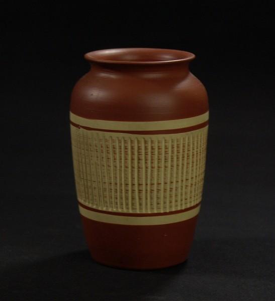 50er Jahre Keramik Vase - Nature Look