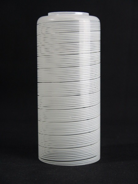 Ersatz Glas Lampenschirm - 50er / 60er Jahre - Spiralen