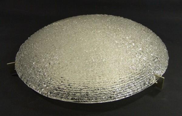 XXL 60er Jahre KAISER Primat Eisglas Deckenlampe - 50cm