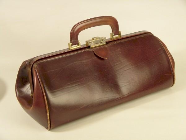 Vintage Leder Arzttasche