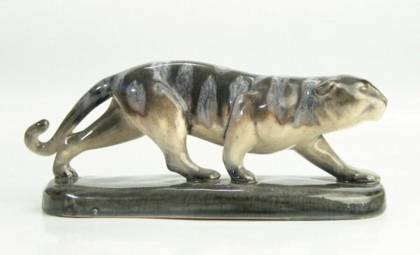 Art Deco Keramik Panther um 1930