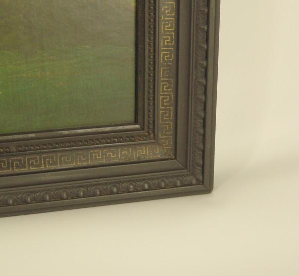 Antiker Bilderrahmen um 1910 - schwarz