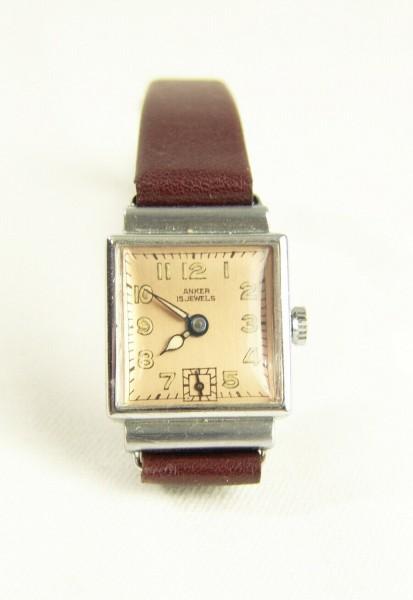 Art Deco ANKER Armbanduhr - mechanisch