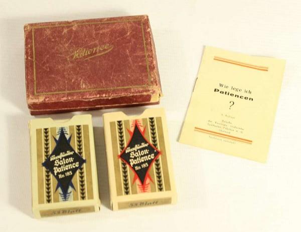 Vereinigte Stralsunder Spielkarten - Salon Patience - Deutsches Reich