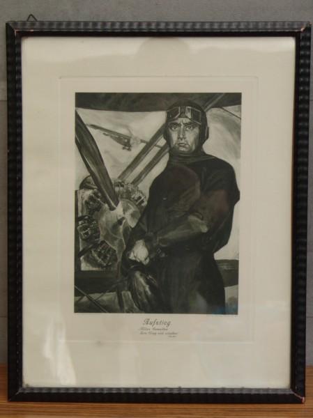 """Fliegerbild - Pilot - Um 1930 - Erwin Bindewald - """"Aufstieg"""" - Varia Vlg"""