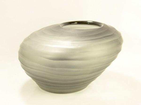 70er Jahre Design Glas Vase