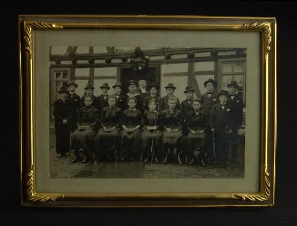 Antiker Bilderrahmen um 1940 - Messing - 14,5 x 19,5 cm