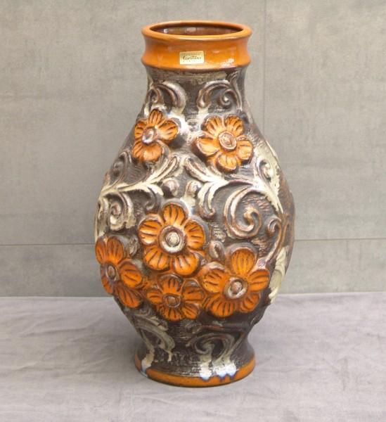 Große Keramik Bodenvase - Carstens Tönnieshof - 70er Jahre Pop Art