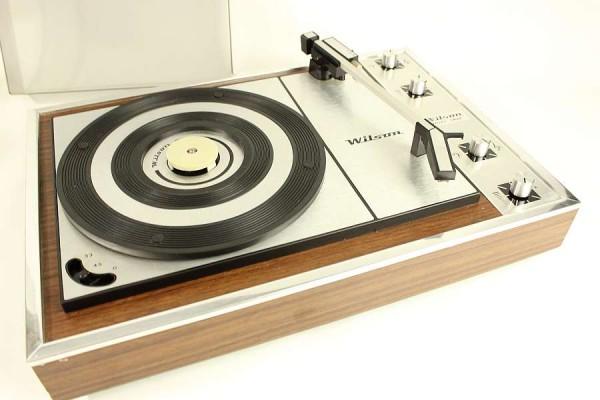 Wilson Mini Trio Plattenspieler - 70er Jahre